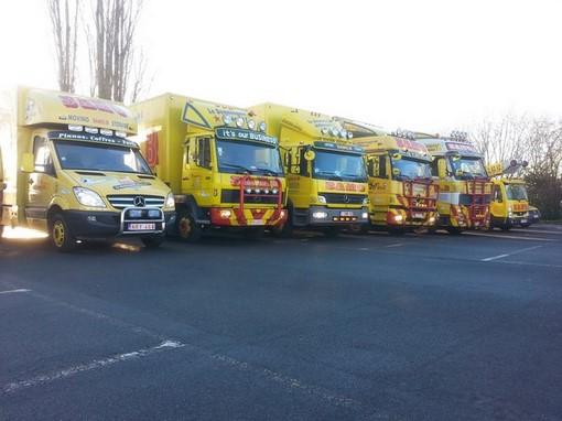 Flotte de déménagement Liège et Verviers