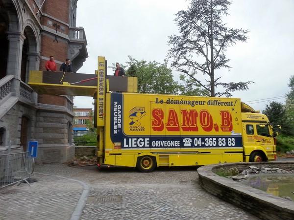 Déménagement à Liège et Verviers