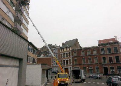 Déménagement et lift service à Liège, Verviers, Huy et Ans