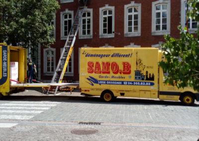 Déménagement bureau Liège